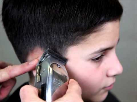 Clipper Cutting How To Taper Hair With Clippers Youtube