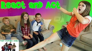 React and Act Game / That YouTub3 Family