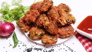 Pakora Recipe in BanglaBangladeshi Vegetable Pakora Recipe