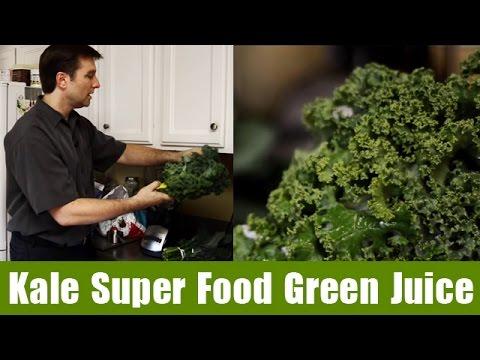 Kale Super Food Green Juice