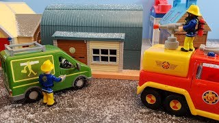 Fireman Sam Toys Episode 23 Crash Fire Mikes Van Toy 2019 Jupiter Venus Fire Station Firefighter Sam