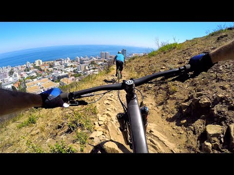 WILD & ROCKY RIDING ABOVE CAPE TOWN | Mountain Biking South Africa