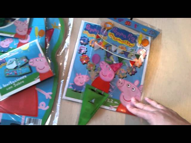 cumpleaños de peppa pig Travel Video