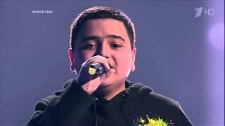 Азер Насибов в финале шоу Голос Дети
