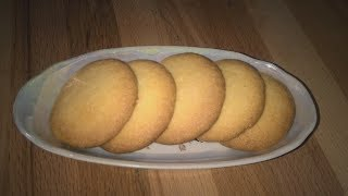 Крахмальное печенье. Печенье к чаю быстро и вкусно! Домашнее печенье.