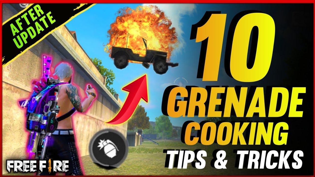 10 GRENADE COOK TRICKS FREE FIRE - para SAMSUNG,A3,A5,A6,A7,J2,J5,J7,S5,S6,S7,S9,A10,A20,A30,A50,A70