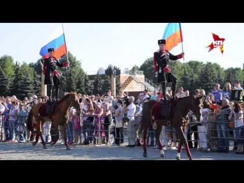 Россияне отпраздновали День флага страны