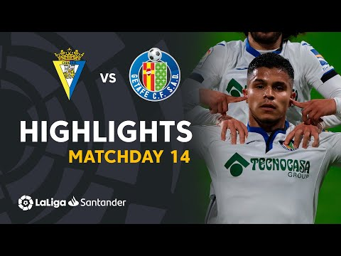 Cadiz Getafe Goals And Highlights