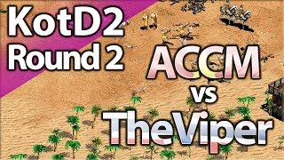 TheViper vs ACCM | King Of The Desert 2 | Round 2