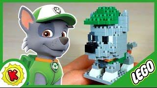 Лего. Щенячий Патруль. Рокки из LEGO. Paw Patrol. Rocky.