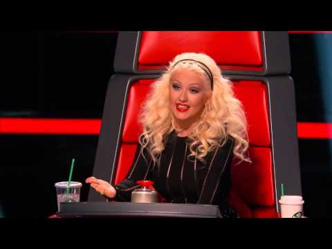 Caitlin Caporale sings 'Impossible' The Voice 2015 Blind Auditions