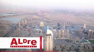 Dubai - Burj Khalifa - inside & elevator going up - 124 floors [HD]