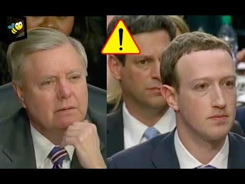 Senator Lindsey Graham Questions Mark Zuckerberg During Senate Hearing 4/10/18