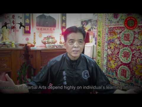 Sifu de Nittis presents an Exclusive Interview with Master Chan Shun Ming
