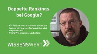 Doppelte Rankings in den Google-Suchergebnissen? | Fairrank TV - Wissenswert