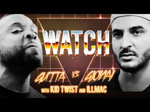 WATCH: GUTTA vs GJONAJ with KID TWIST and ILLMAC