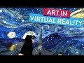 """Step Inside Van Gogh's """"Starry Night"""" with Virtual Reality! 
