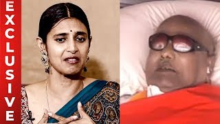 Kasthuri have conveyed her condolence to Kalaignar