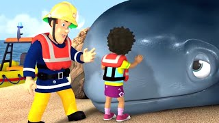 Fireman Sam full episodes | Sam Saves The Whale 🔥Kids Movie | Videos for Kids