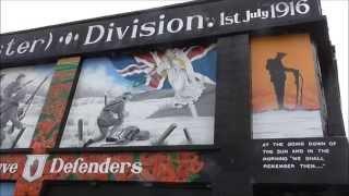 36th Ulster Division VC Memorial Garden Newtownards Road Belfast