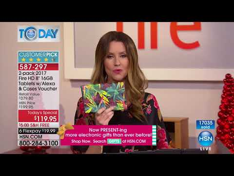 HSN | HSN Today: Electronic Gifts 12.04.2017 - 08 AM