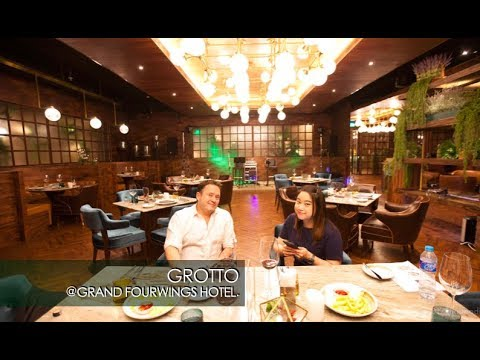 Grotto Restaurant Champagne and Wine Bar at Grand Four Wings Convention Hotel Bangkok