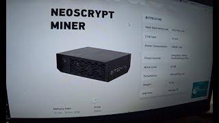 А это вместо 60 1080... Asic под NeoScrypt Miner (62mh/s - 1250w - 2000$)