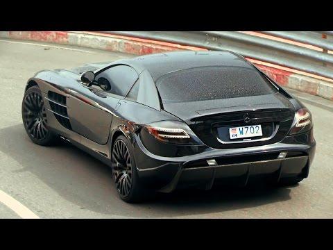 Mansory McLaren Mercedes SLR in Monaco