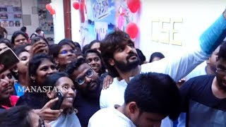 Guna 369 Movie Promotion In Vignan College Vishakapatnam Manastars