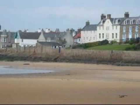 Elie near St Andrews in Scotland