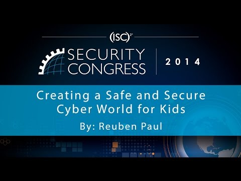 Creating a Safe and Secure Cyber World for Kids | 8 Year Old CEO Reuben Paul | Security Congress