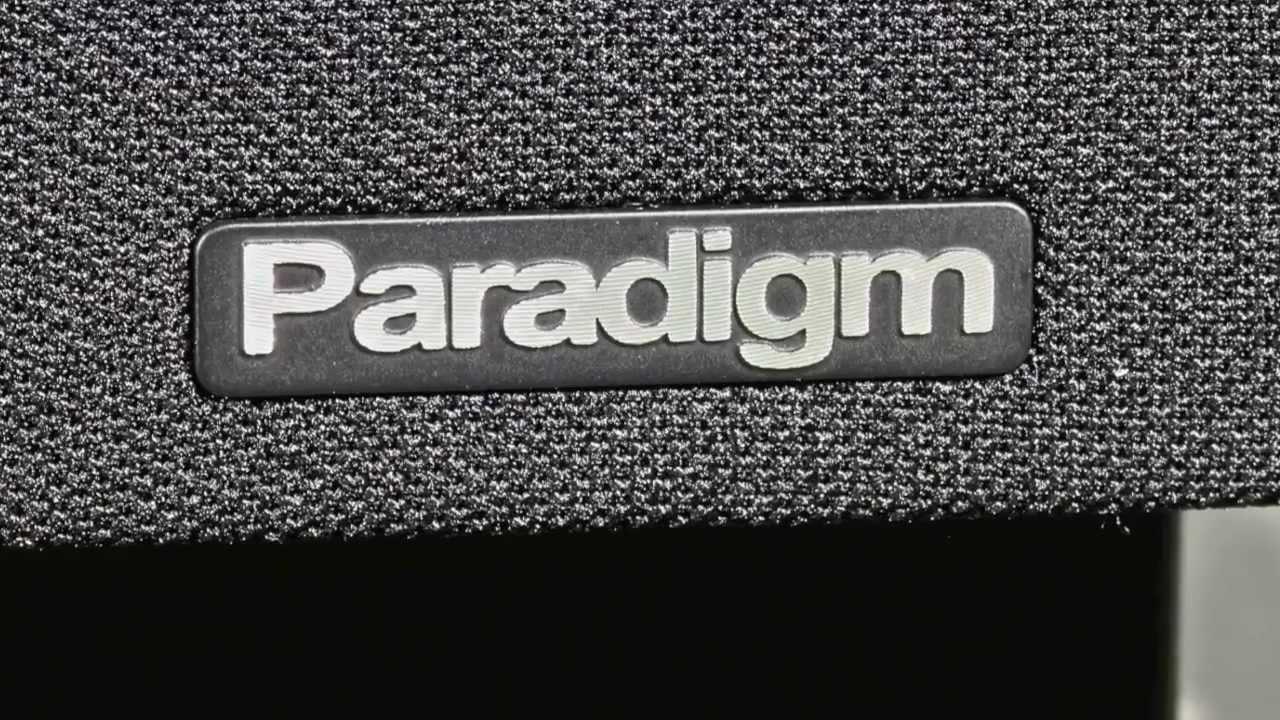 Stereo Design Paradigm Mini Monitor S7 Bookshelf Speakers In HD