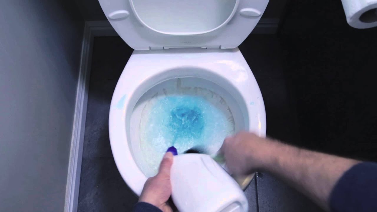 Icky Stick - Pumice Stone Toilet Bowl Ring Remover - YouTube