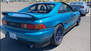 My $360 Supercharged V6 Toyota MR2(SW20)!