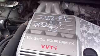 Toyota Harrier, Lexus RX300 в разбор MCU15, 1MZ во Владивостоке, ра...