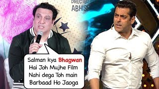 Govinda Makes FUN Of Salman Khan For Not Giving Any Film After Partner & Not Launching His Daughter