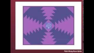Pineapple Placemat Tutorial by Windy Moon Quilts