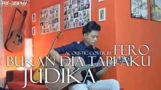 Judika - Bukan Dia Tapi Aku (Dengan Lirik) (Acoustic Cover by Fero)