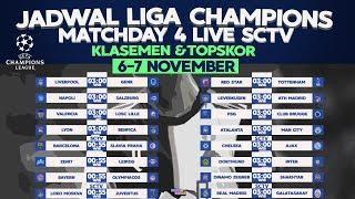 Jadwal Lengkap Siaran Langsung Liga Champions 2019 Matchday 4 Malam Ini (Live SCTV)