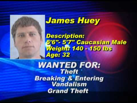 Guernsey County's Most Wanted - James Huey