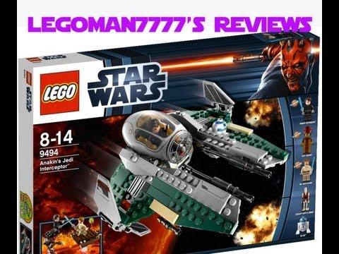 Lego star wars 9494 anakin 39 s jedi interceptor review - Croiseur star wars lego ...