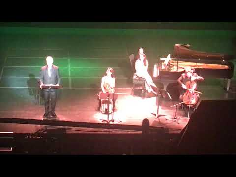 Bill Murray, Jan Vogler, Mira Wang & Vanessa Perez  Hippodrome  Baltimore, Md   April 6, 2018