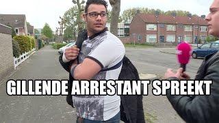 Gillende arrestant spreekt