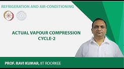 Actual Vapour Compression Cycle-2