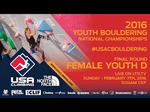 Female Youth D • Finals • Sunday February 7th 2016 • LIVE 10:14AM CST
