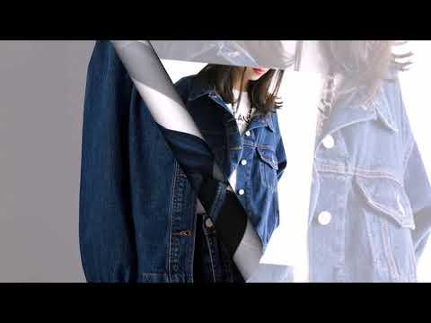 Женская джинсовая куртка LEIJIJEANS, длинная синяя классическая джинсовая куртка, приталенная однобо