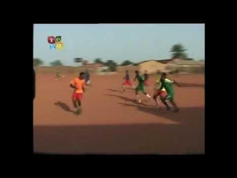 TGB VS Aguiprov/MAJ (Guinea Bissau) football tournament