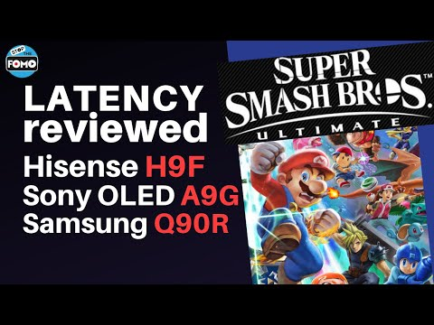 SWITCH gaming Latency Reviewed on Hisense H9F vs OLED vs Q90R!