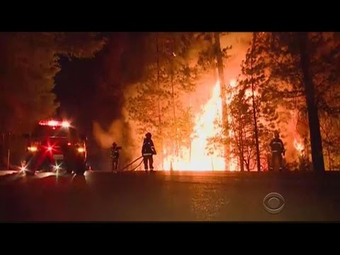 Firefighters struggle as California wildfires grow
