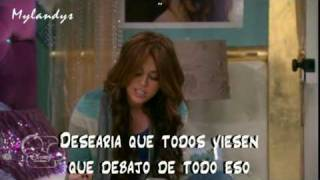 Miley Cyrus - Ordinary girl HM forever season 4 - subtitulado español